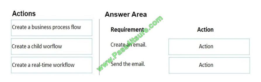 Pass4itsure MB-210 exam questions-q1